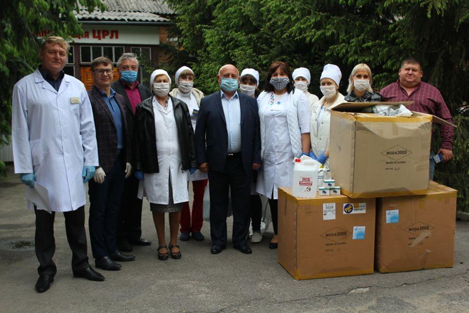 Благодійниками у Вінницькій області надано допомоги  більше як на 3,5 млн гривен
