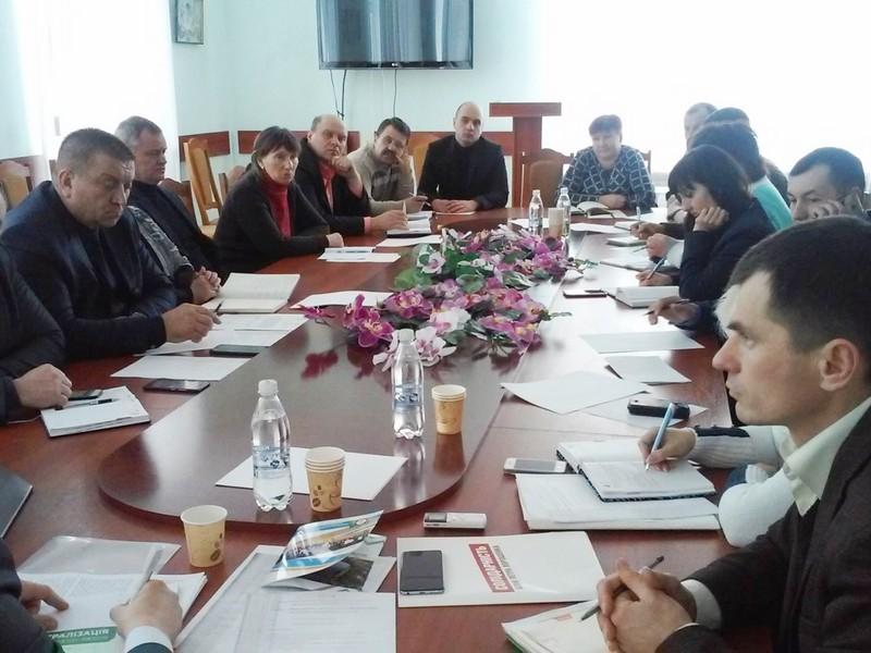 Руслан Демчак організував круглий стіл для представників ОТГ Вінницької області