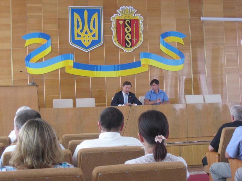 Руслан Демчак провів семінар щодо головних змін Закону «Про місцеві вибори»